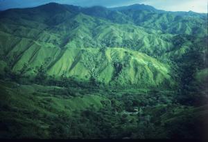 Costa Rica   Kalhuggna berg 2.